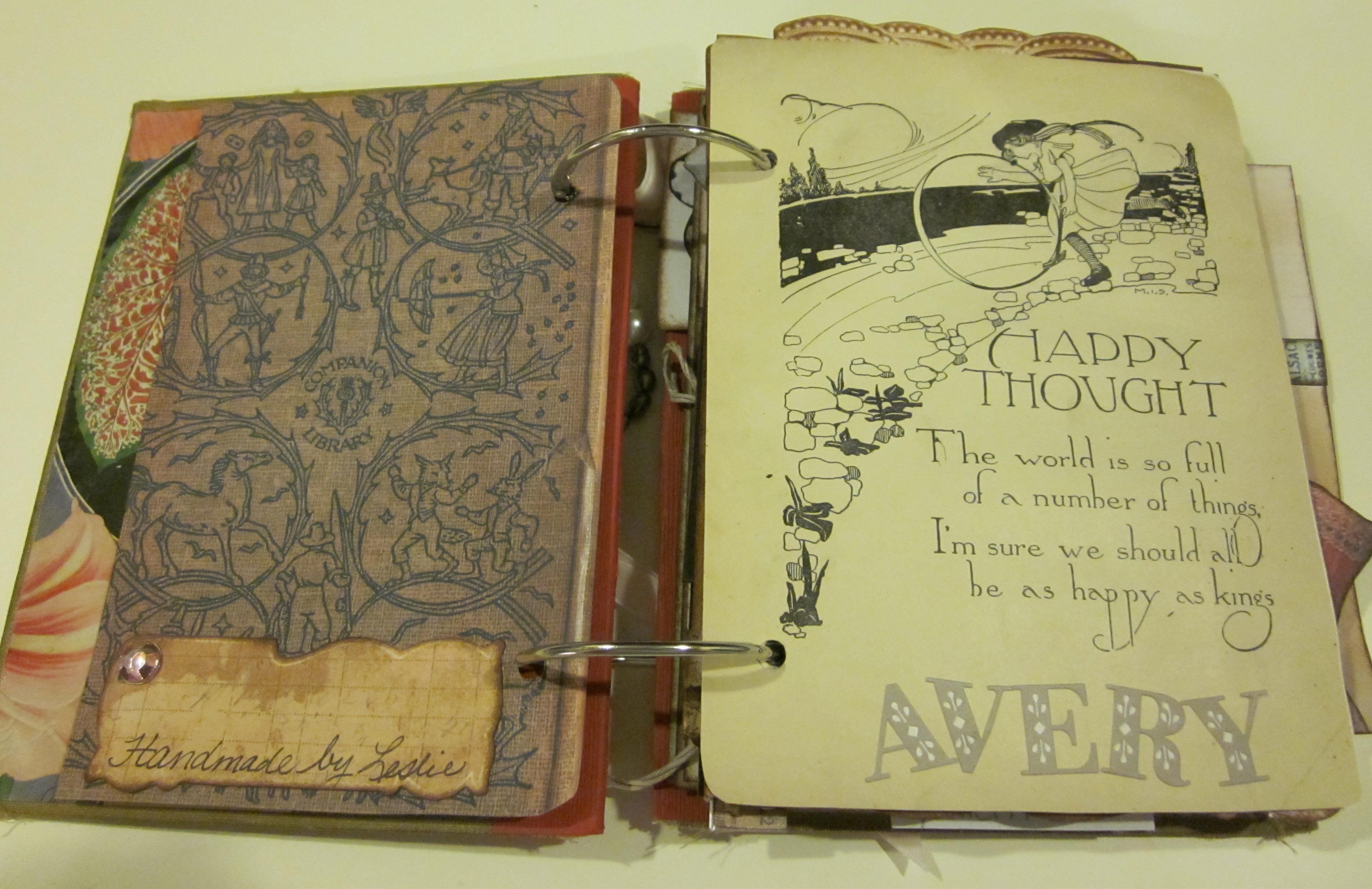 Vintage Scrapbooks Book Covers